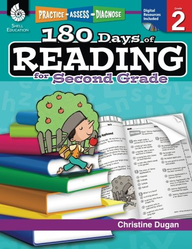 Shell Education Practice, Assess, and Diagnose: 180 Days of Reading, Grade 2